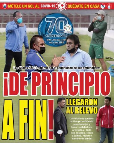 Liga Premier Magazine No. 1185