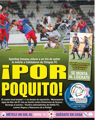Liga Premier Magazine No. 1210